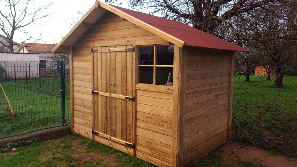 Caseta de madera tratada i as for Caseta madera jardin